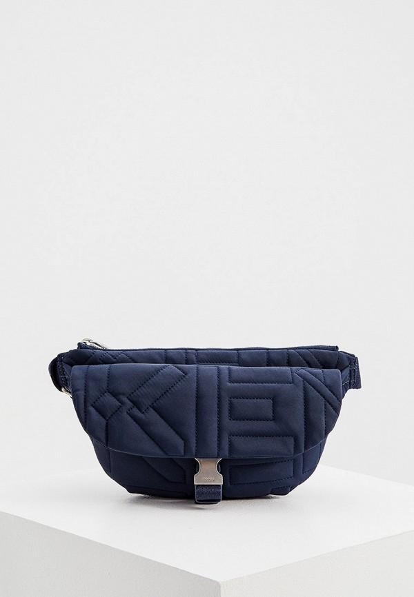 женская поясные сумка kenzo, синяя