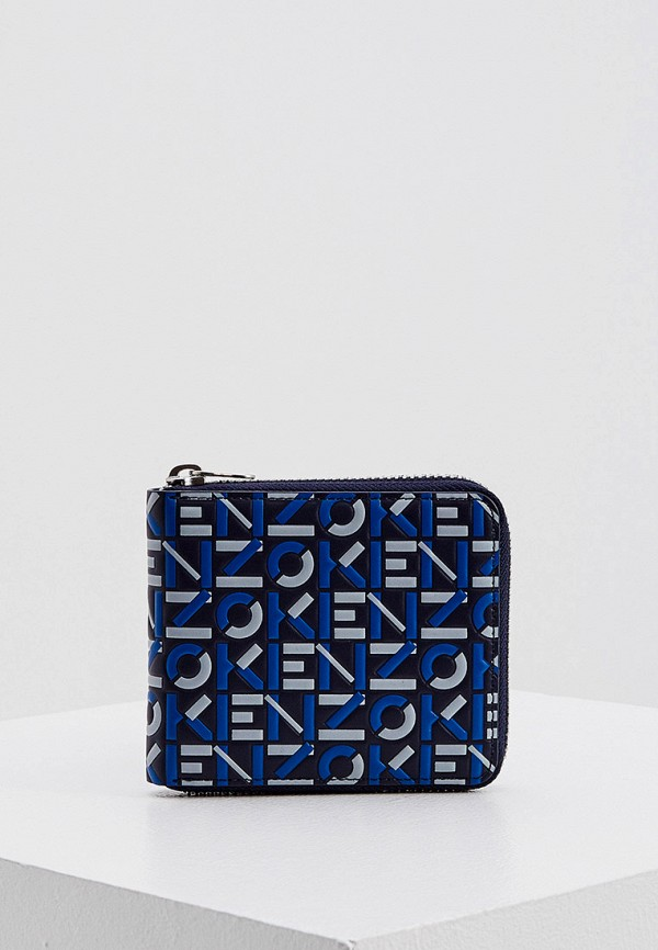 женский кошелёк kenzo, синий