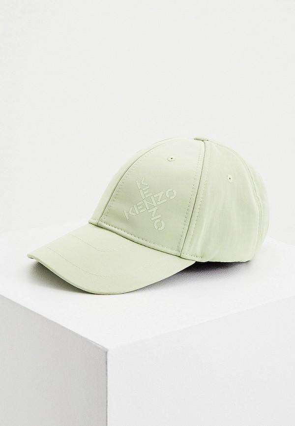 женская бейсболка kenzo, зеленая