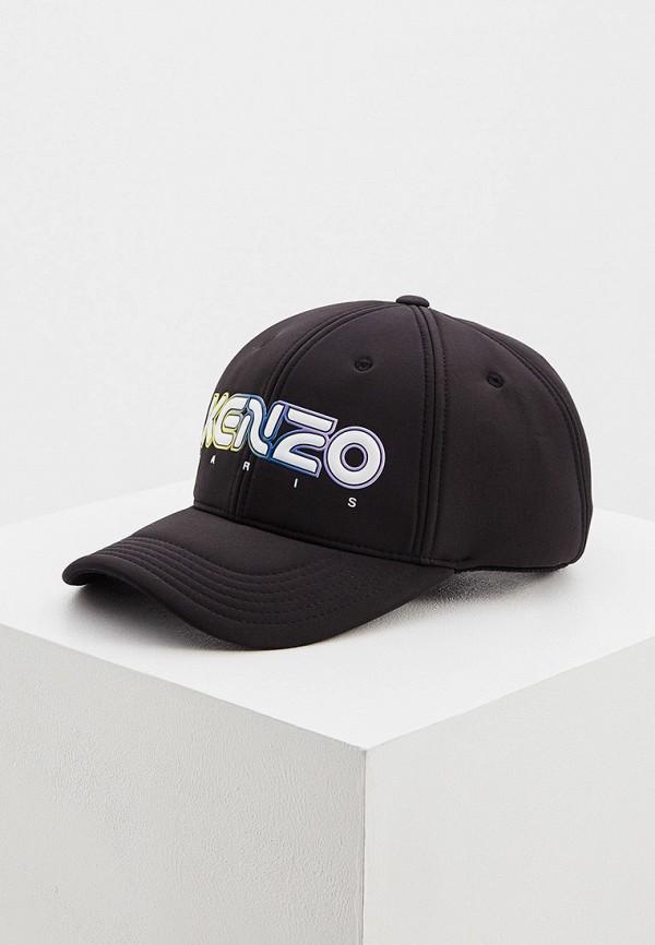 женская бейсболка kenzo, черная