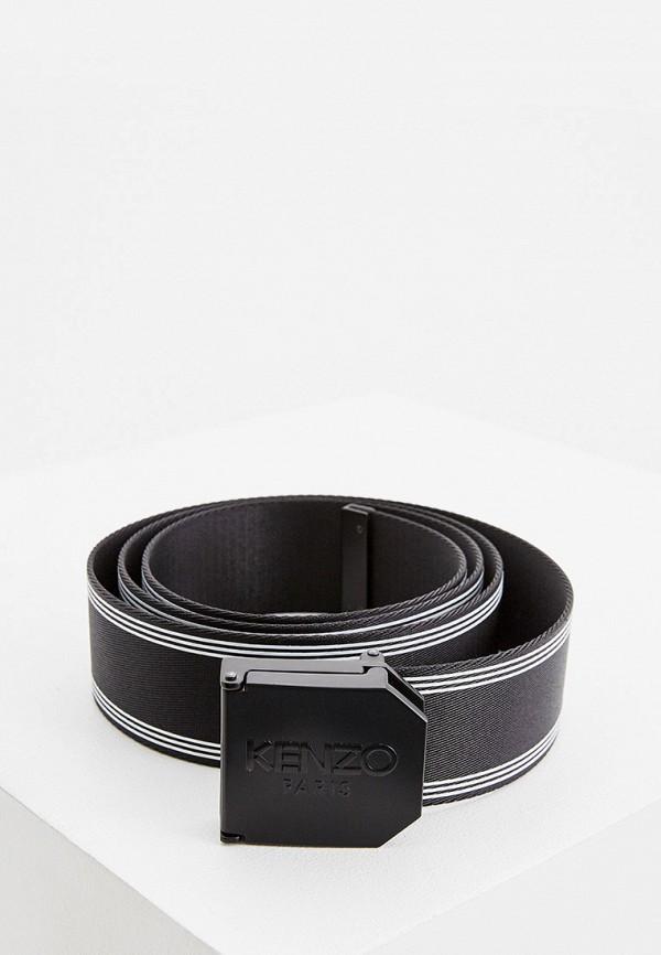 мужской ремень kenzo, черный