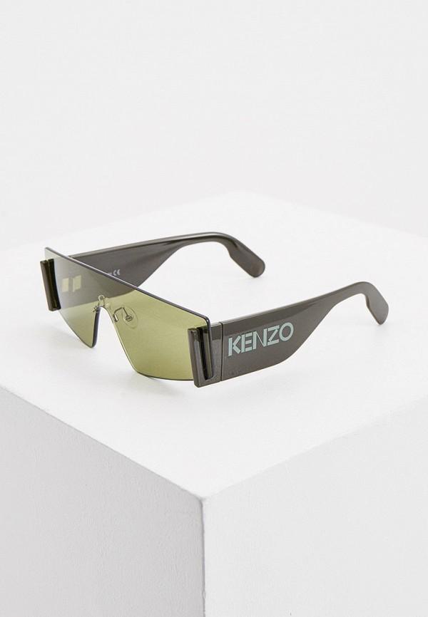 женские солнцезащитные очки kenzo, хаки