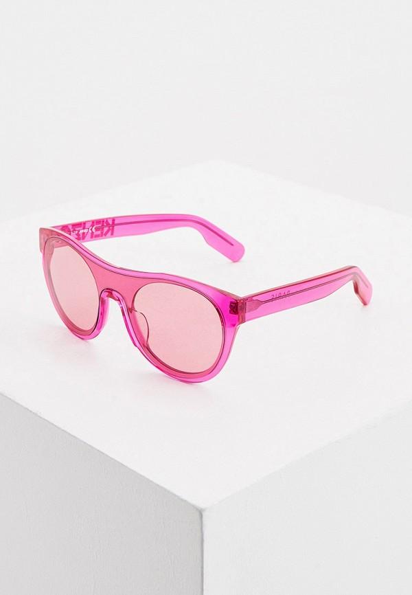 женские солнцезащитные очки kenzo, розовые