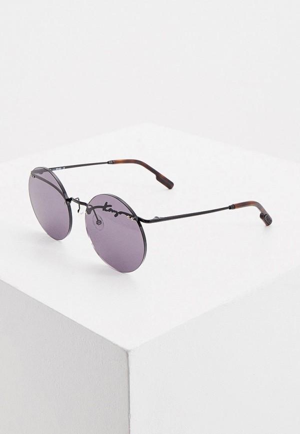 женские солнцезащитные очки kenzo, черные