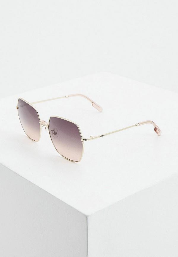 женские солнцезащитные очки kenzo, золотые