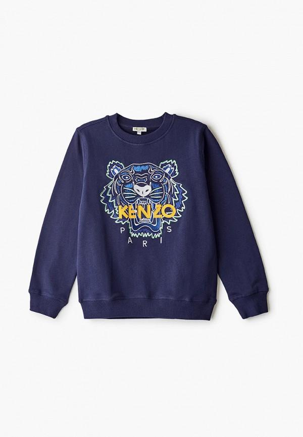 свитшот kenzo для мальчика, синий