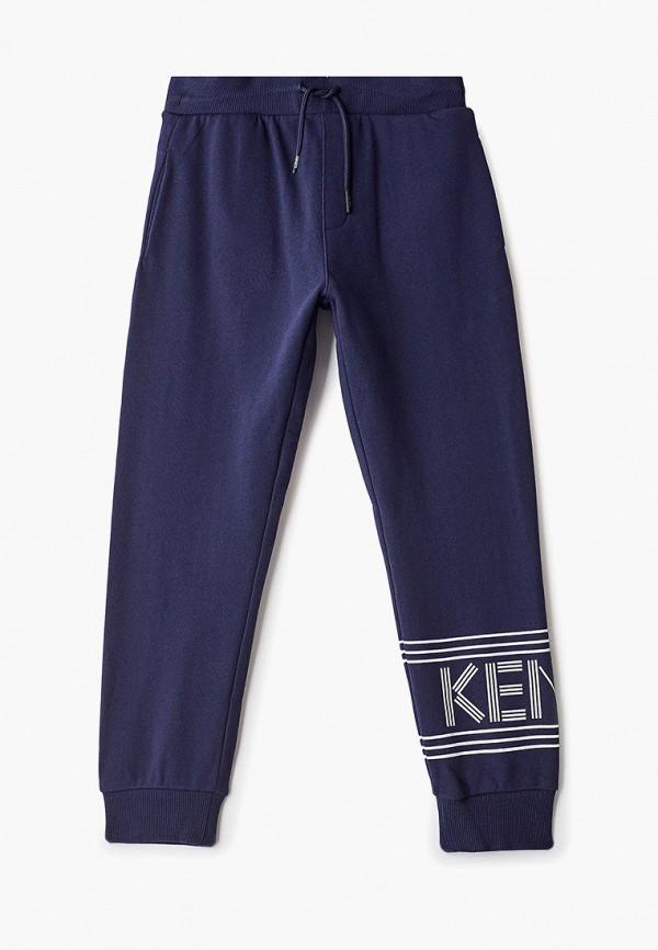 спортивные брюки kenzo для мальчика, синие