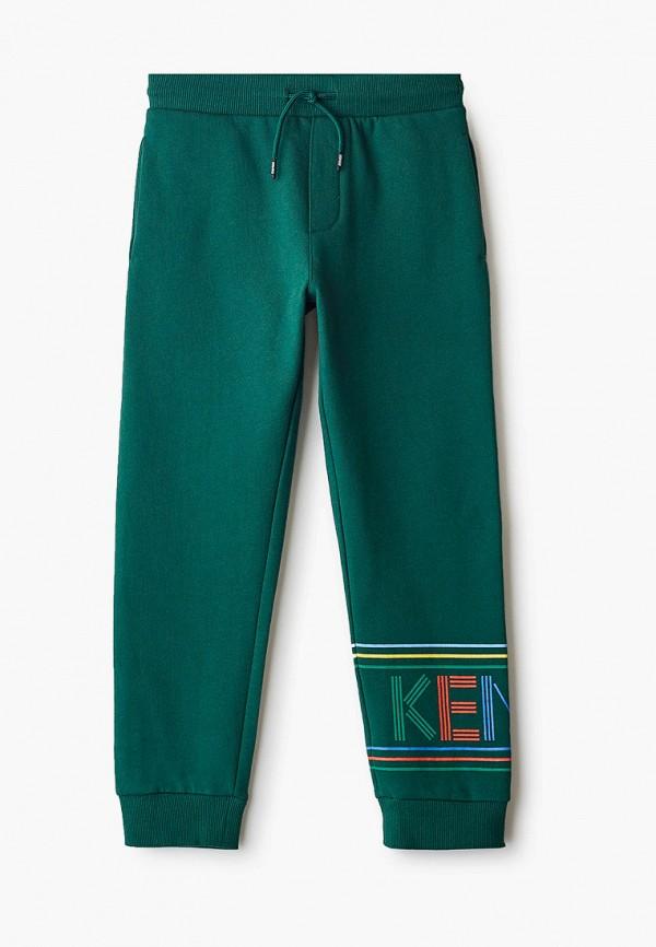 спортивные брюки kenzo для мальчика, зеленые