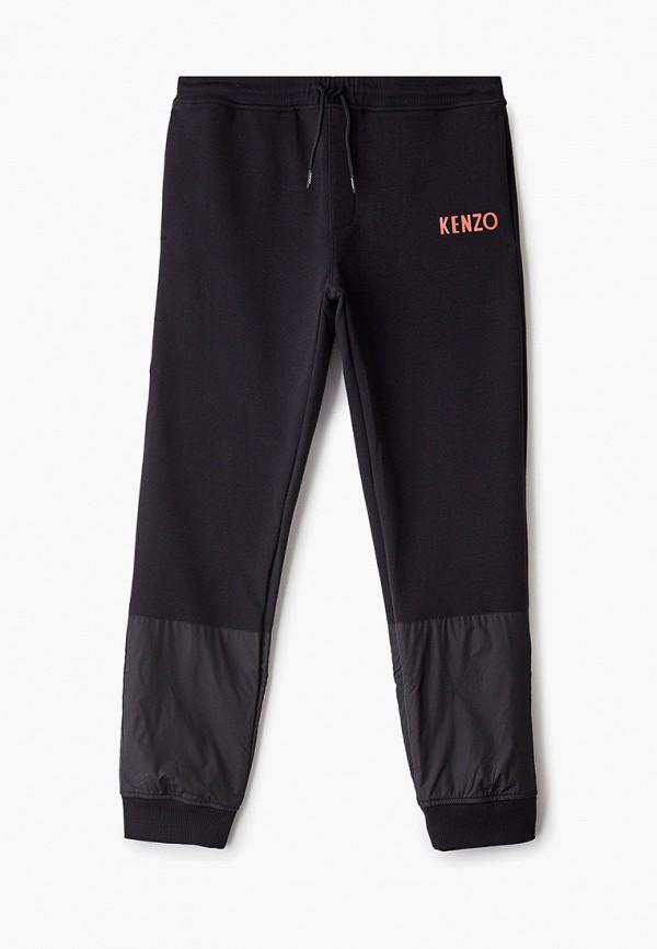 спортивные спортивные брюки kenzo для мальчика, черные