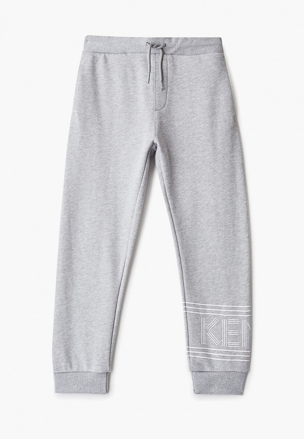 спортивные брюки kenzo для мальчика, серые