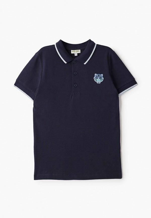 поло kenzo для мальчика, синее