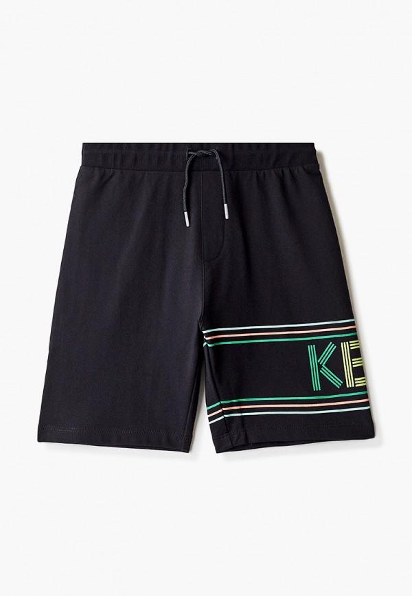 спортивные шорты kenzo для мальчика, черные