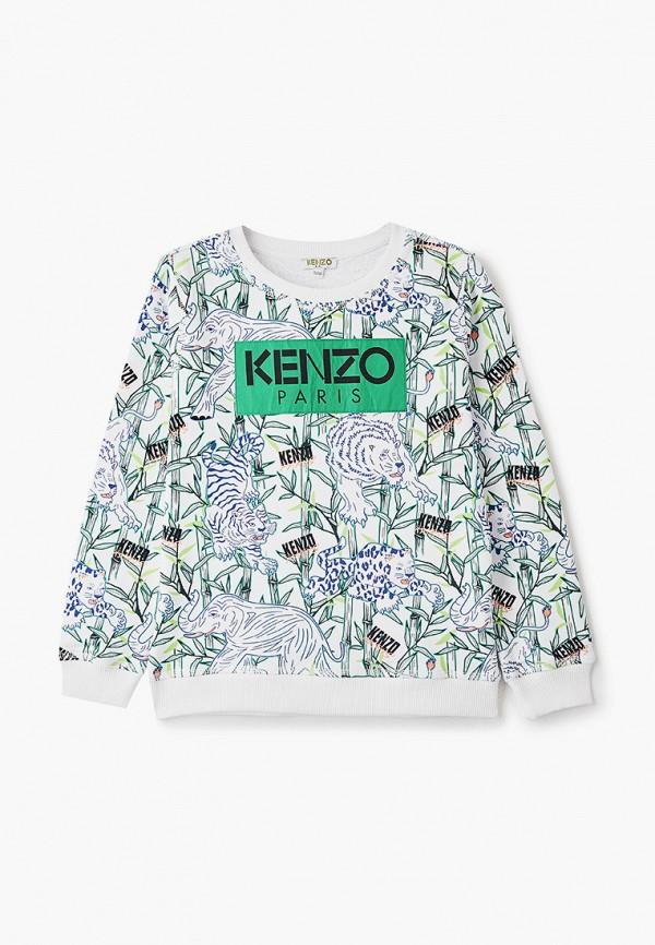 свитшот kenzo для мальчика, белый