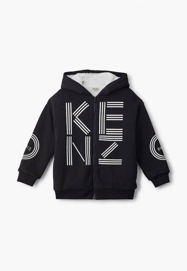 толстовка kenzo для мальчика, черная