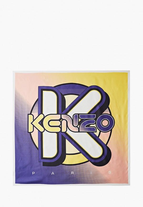 женский платок kenzo, разноцветный