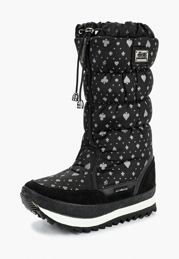 Дутики King Boots King Boots KI008AWCVOT0 2016 paris show locomotive boots liu wen with the cool boots hollow out black martin boots ladies shoes comfortable flat boots