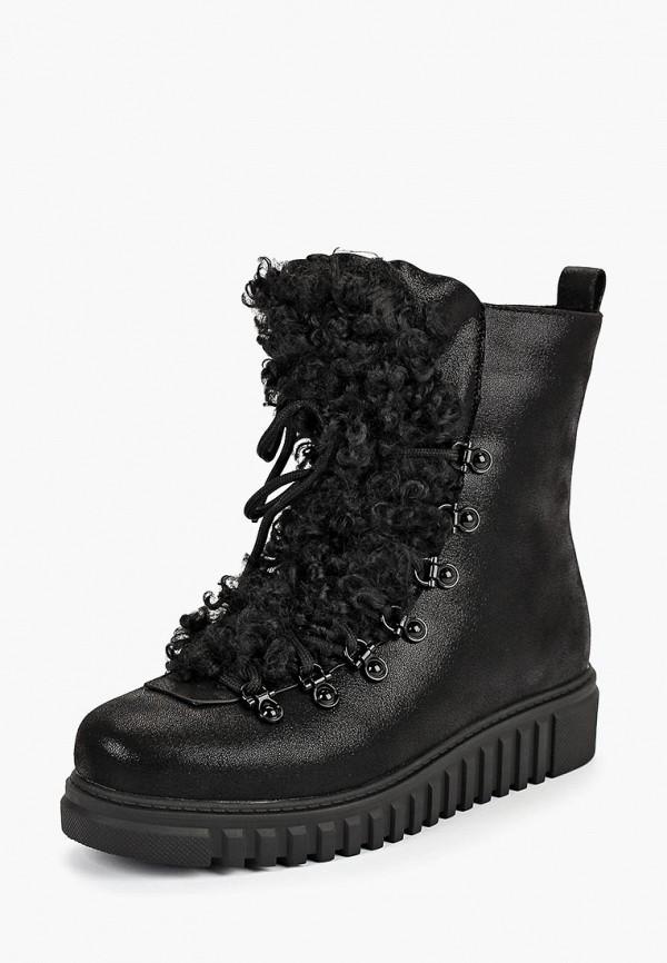 женские ботинки king boots, черные