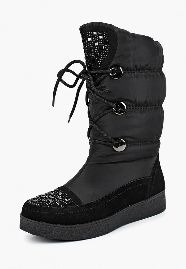 Дутики King Boots King Boots KI008AWCVOW1 2016 paris show locomotive boots liu wen with the cool boots hollow out black martin boots ladies shoes comfortable flat boots