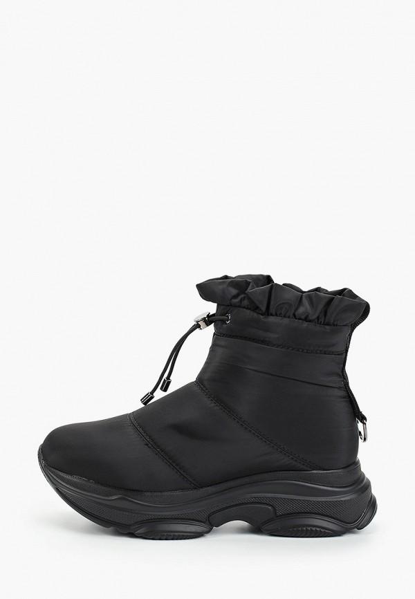женские дутики king boots, черные