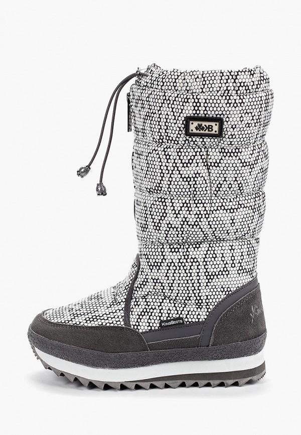Фото - Дутики King Boots King Boots KI008AWGUSJ8 дутики для девочки biki цвет черный a b23 33 c размер 34