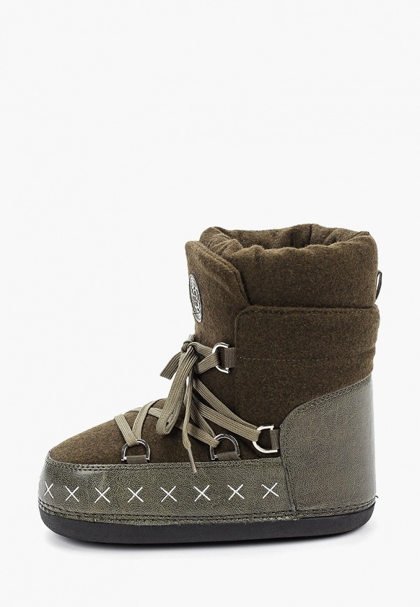 женские луноходы king boots, хаки