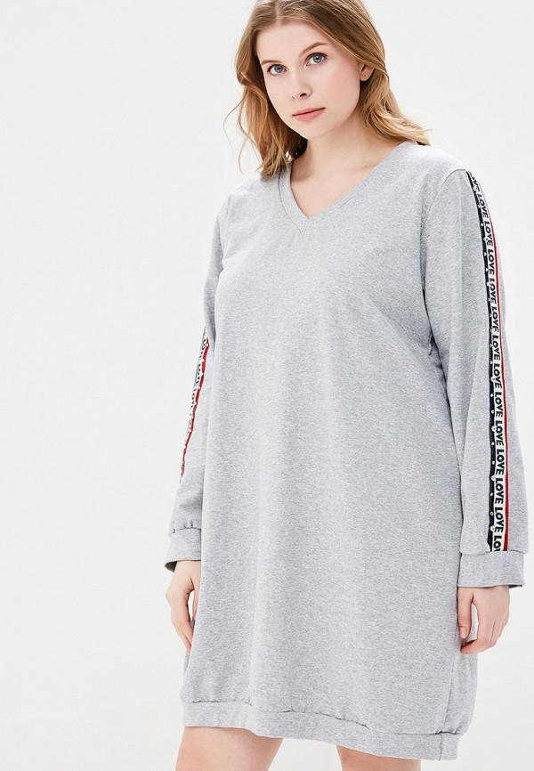 Купить Платье Kitana by Rinascimento, ki009ewazor0, серый, Весна-лето 2018