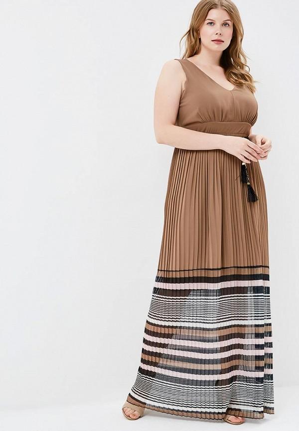 Купить Платье Kitana by Rinascimento, ki009ewbrea7, коричневый, Весна-лето 2018