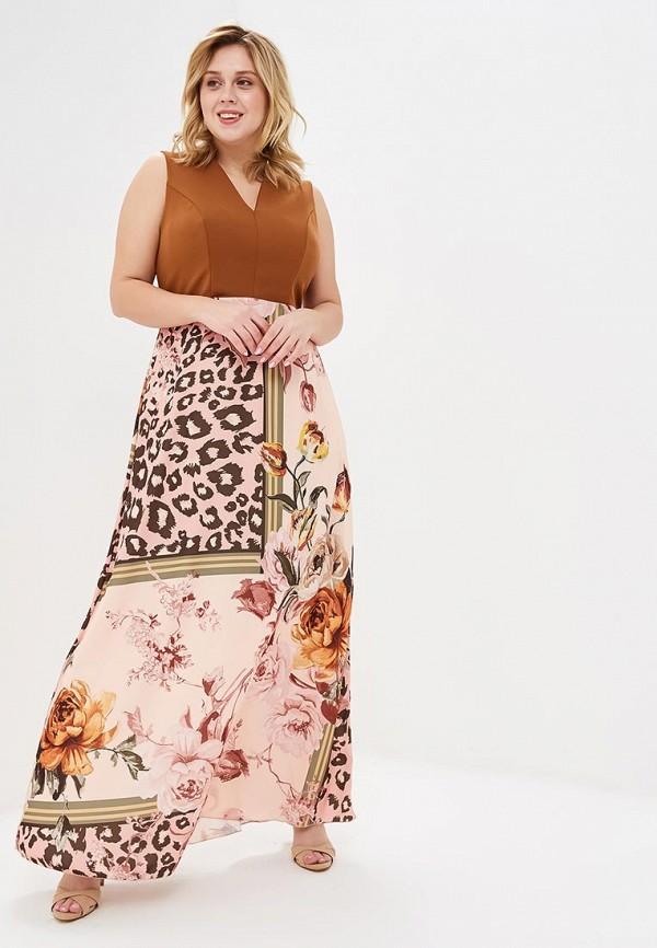 женское повседневные платье kitana by rinascimento, разноцветное