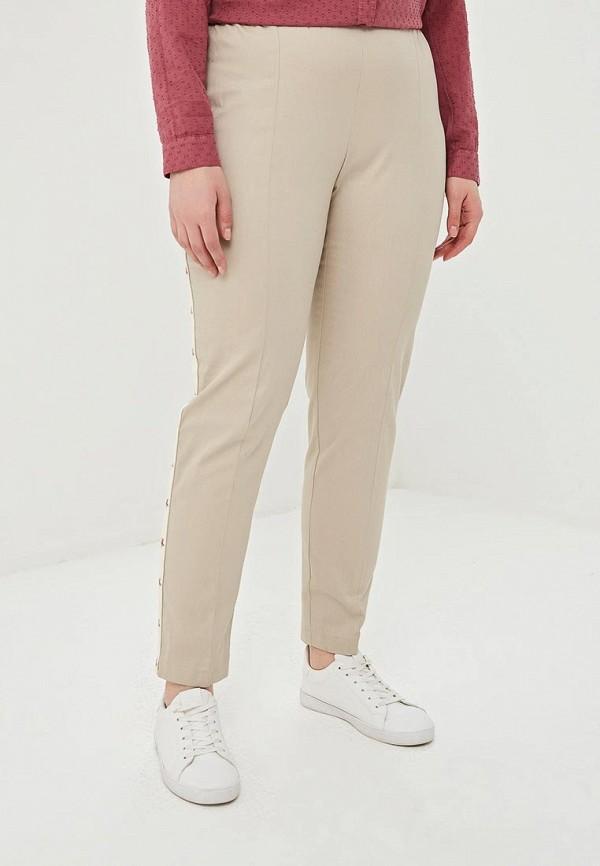 женские прямые брюки kitana by rinascimento, бежевые
