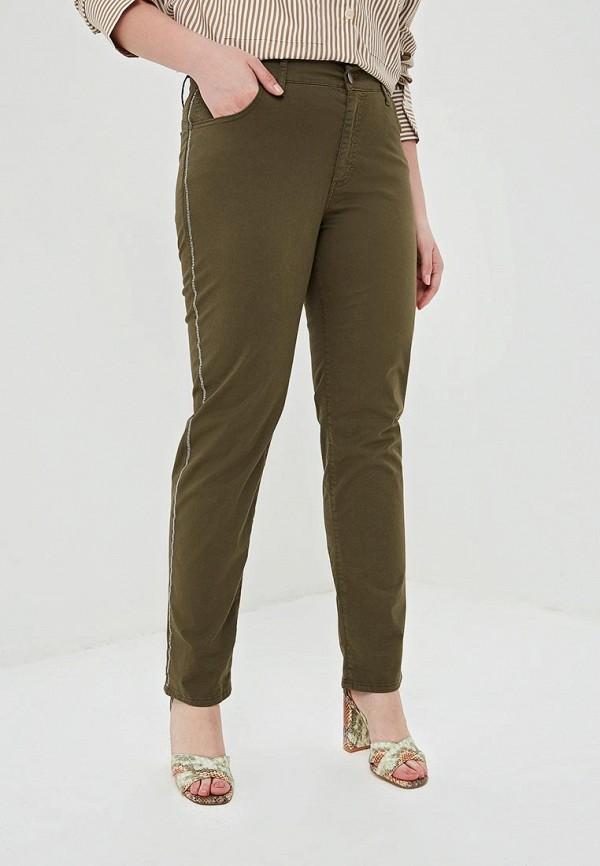 женские брюки kitana by rinascimento, хаки