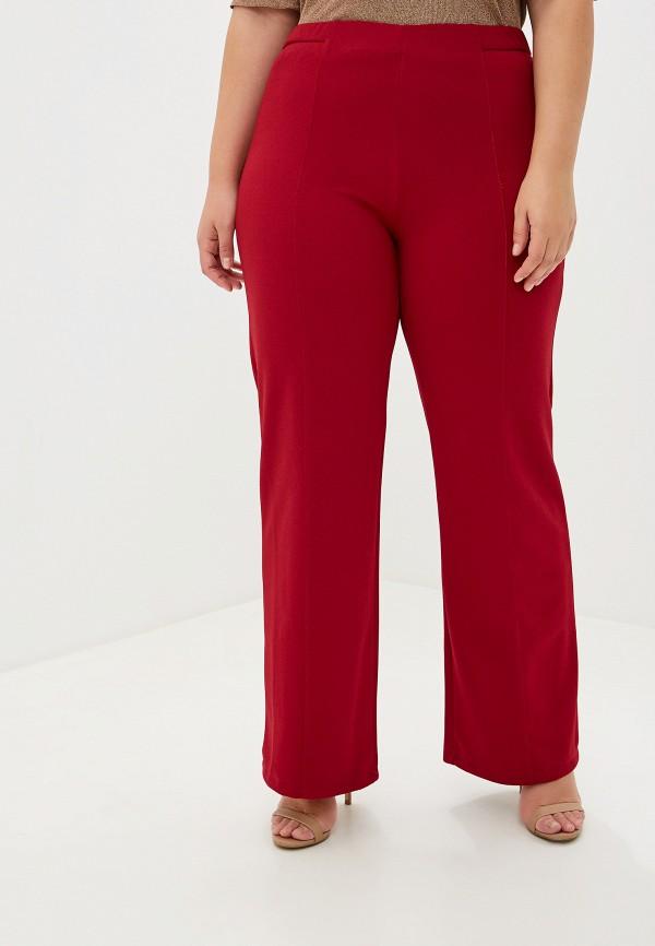 женские брюки kitana by rinascimento, красные