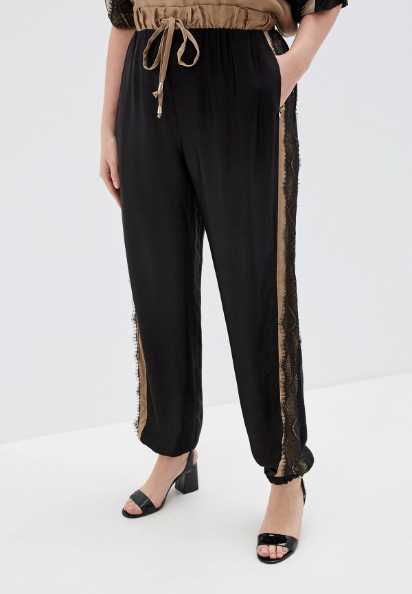 женские брюки kitana by rinascimento, черные