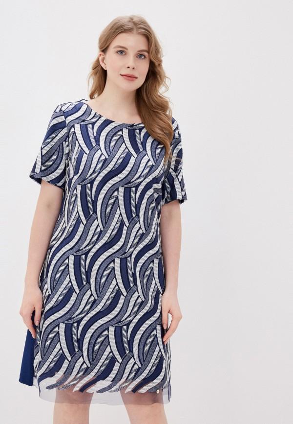 женское вечерние платье kitana by rinascimento, синее