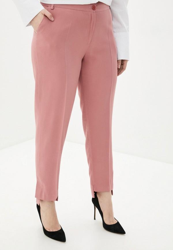 женские зауженные брюки kitana by rinascimento, розовые