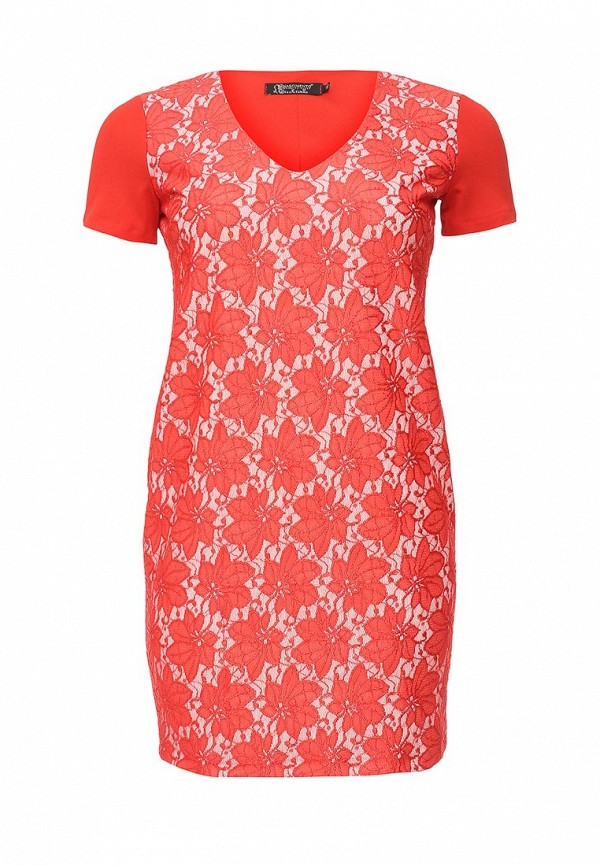 Фото - женское вечернее платье Kitana by Rinascimento красного цвета