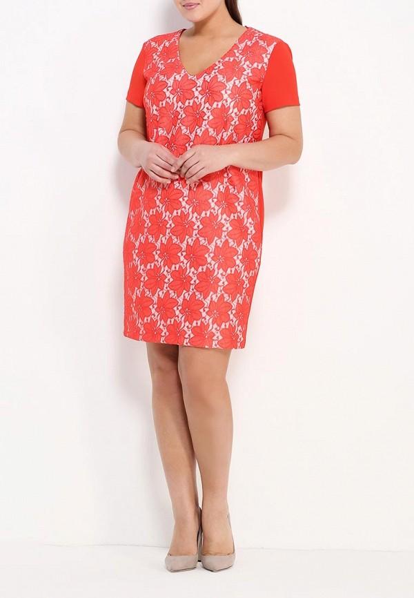 Фото 2 - женское вечернее платье Kitana by Rinascimento красного цвета