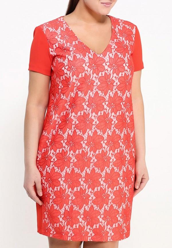 Фото 3 - женское вечернее платье Kitana by Rinascimento красного цвета