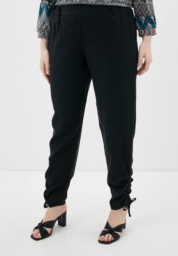 женские прямые брюки kitana by rinascimento, черные