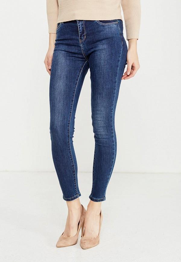 Фото - женские джинсы Kiss Pink синего цвета
