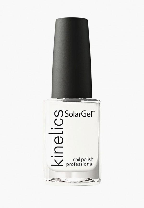 Купить Лак для ногтей Kinetics, Профессиональный SolarGel Polish (001) 15 мл, KI015LWUNO26, белый, Осень-зима 2018/2019