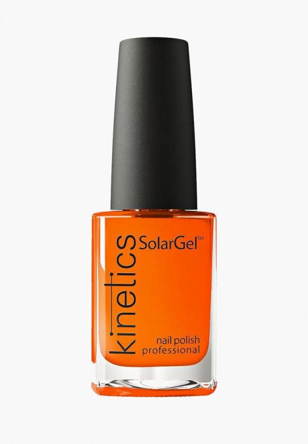 Купить Лак для ногтей Kinetics, Профессиональный SolarGel Polish (371 Escape) 15 мл, KI015LWUNO73, оранжевый, Осень-зима 2018/2019