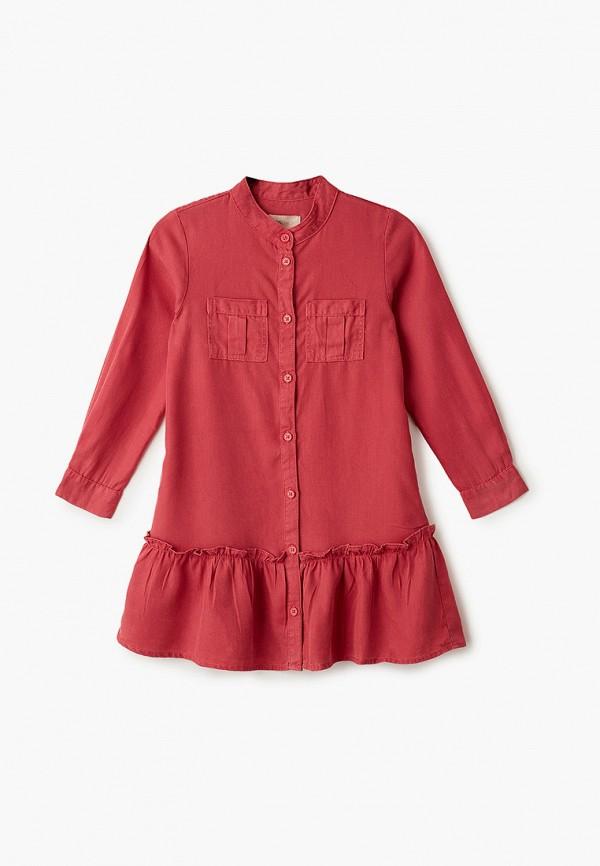 повседневные платье kids only для девочки, красное