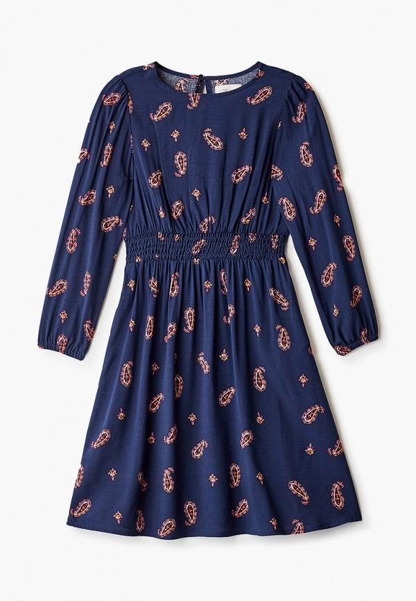 повседневные платье kids only для девочки, синее