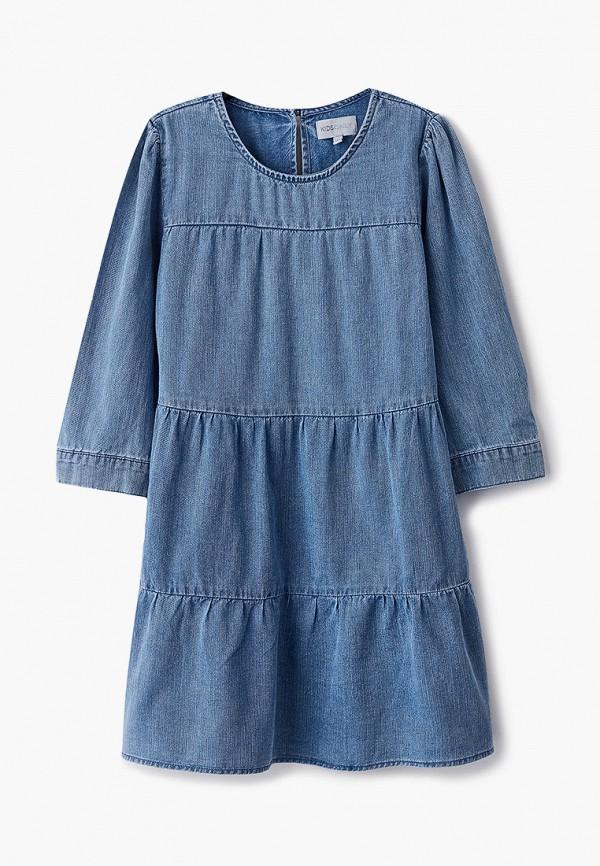 повседневные платье kids only для девочки, голубое