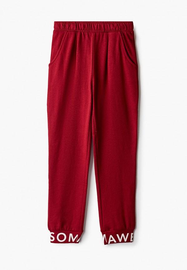 спортивные брюки kids only для девочки, бордовые