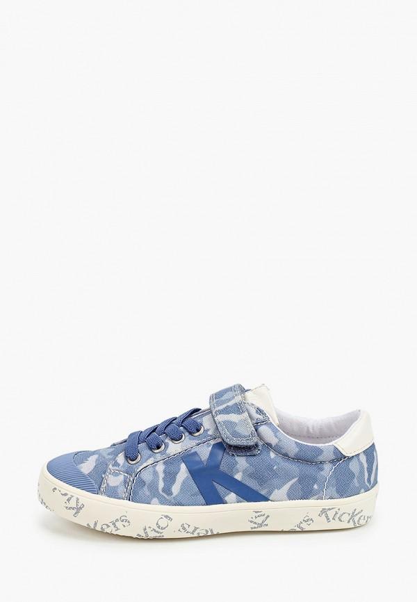 кеды kickers для мальчика, синие