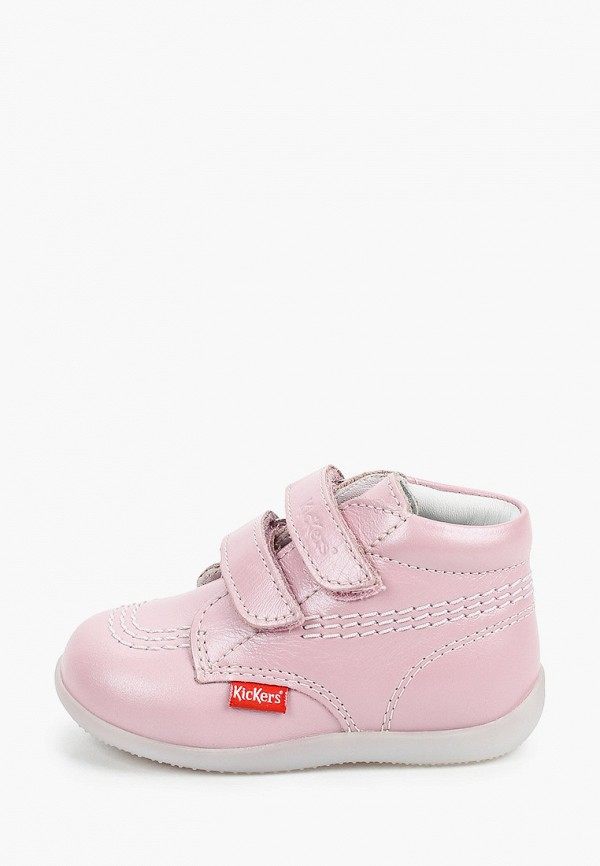 ботинки kickers для мальчика, розовые
