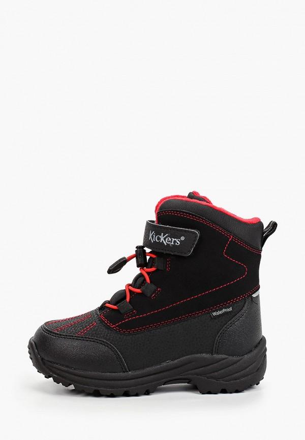 ботинки kickers для мальчика, черные