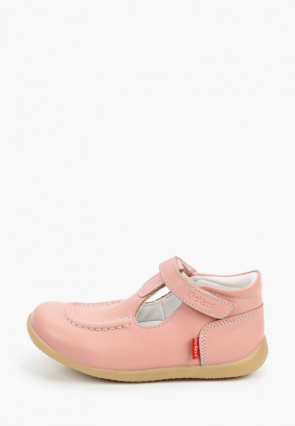 туфли kickers для девочки, розовые