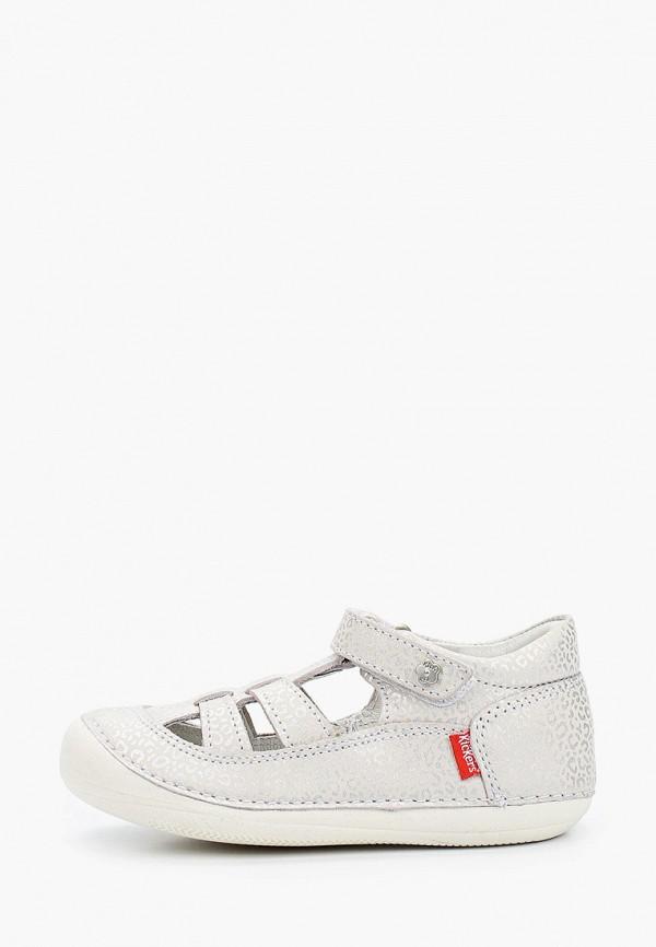 ботинки kickers для девочки, серые